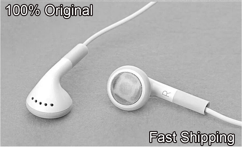 iphone 4 earbuds free shipping 100 original headphones headset for apple 10853