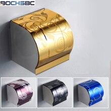 BOCHSBC нержавеющая сталь держатель для бумаги туалетная бумага коробка утолщенная рулонная бумажная коробка водостойкая Portarrollo Acero Inoxidable