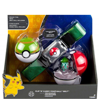 TAKARA TOMY POKEMON Cartoon Squirtle Bulbasaur Charmander Figure Poke Ball & Belt Action Figure Collection Gifts Toys for Kids