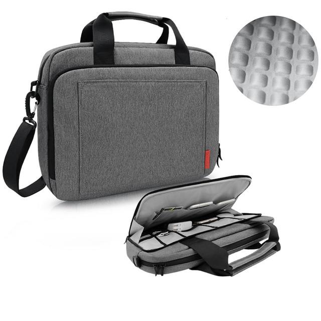 iCozzier Laptop Bag 15.6 13.3 inch Waterproof Notebook Bag for Mackbook Air Pro 13 15 Laptop Shoulder Handbag 13 14 15 inch