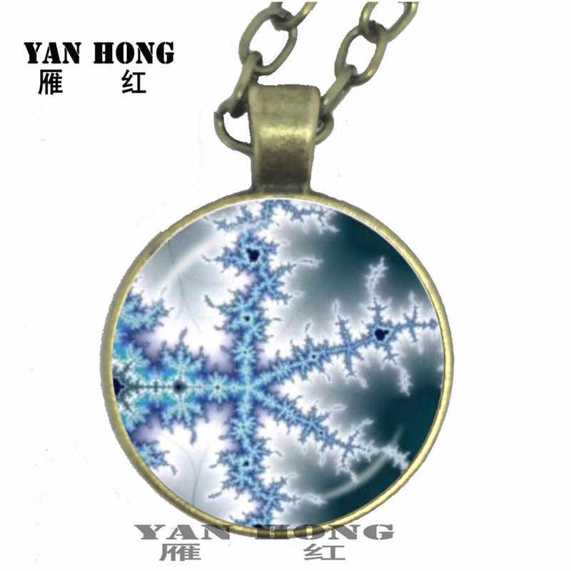 Геометрические элементы спиральная схема тщательно спроектировано ожерелье, 25 мм стекло кристалл производства. Модная и красивая подвеска