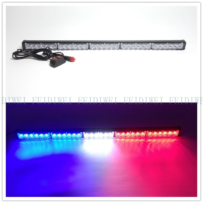 09017 30 LED High Power Strobe Light Fireman Flashing  Emergency Warning Fire Flash Car Truck Yellow White Blue Amber Red цены онлайн