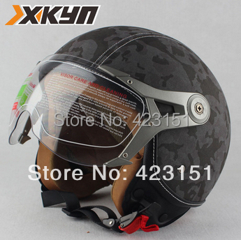 Christmas surprise,Classic Pilot helmets,Vintage open face helmets ,motorcycle half helmets,8 style,the cheapest price