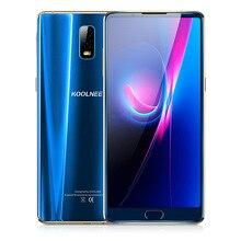 """KOOLNEE K1 Trio Visage ID 6 GB + 128 GB 6.01 """"Android 7.1 MTK6763 Octa Core 2.0 GHz 16MP Double Cames Arrière D'empreintes Digitales 4G Mobile téléphone"""