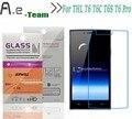 Aierwill t6c hd limpar película protetora protetor de tela para thl + 9 H 2.5D Anti-Explosão Para THL t6 T6C THL T6 Pro Temperado vidro