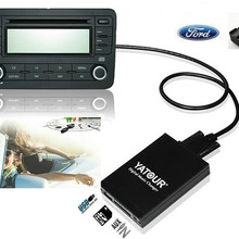 Yatour Audio Digital Music Changer voor Ford Explorer Focus MK1 Fiesta MK4 Europa 5000RDS 6000CD RDS 12pin Auto mp3 Speler adapter