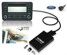 YATOUR цифровой музыки чейнджер для Ford Explorer фокус MK1 Fiesta MK4 Европа 5000RDS 6000CD RDS 12-контактный MP3 интерфейс адаптер