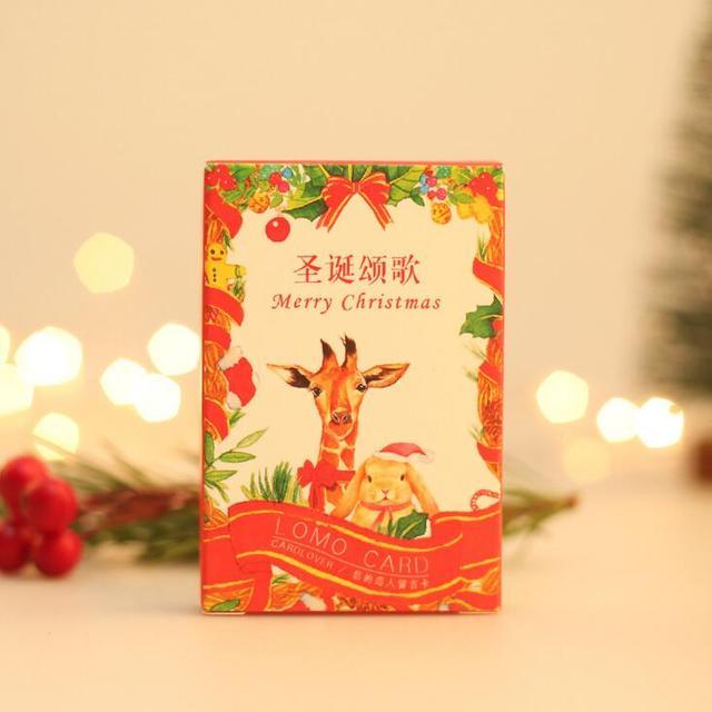 12 packlot animals christmas song mini lomo card greeting card 12 packlot animals christmas song mini lomo card greeting card postcard birthday letter envelope m4hsunfo Images