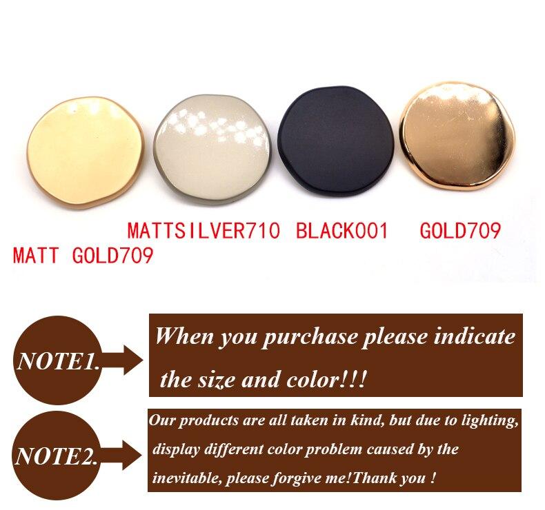 Горячая распродажа 10 шт./лот модные 30 мм большие декоративные пуговицы высокое качество самолет золотые пуговицы для рубашки пальто Швейные аксессуары DIY