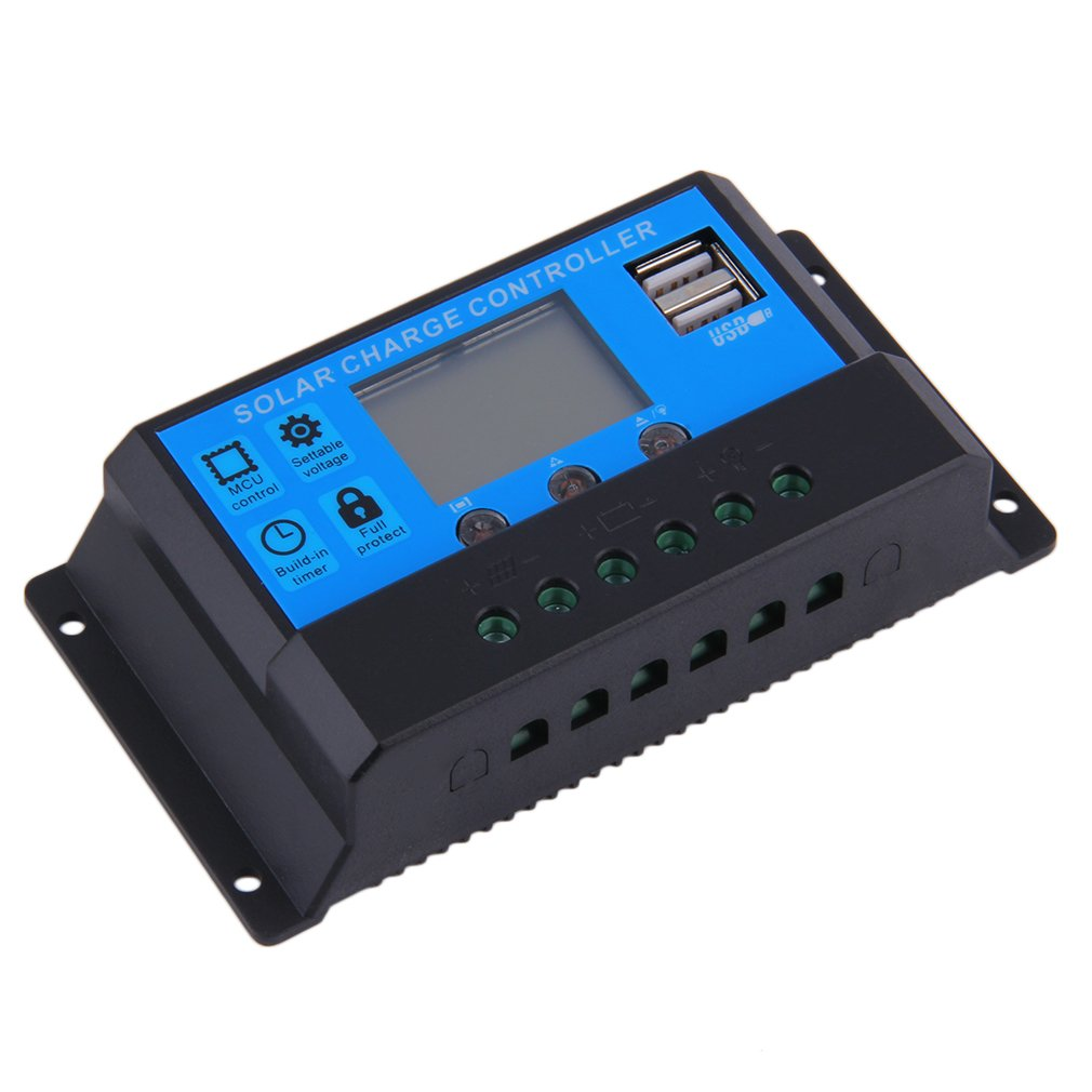 Newest Hot 20A 12/24V Auto Switch Solar Charge Controller LED Display 2 USB Ports 88Newest Hot 20A 12/24V Auto Switch Solar Charge Controller LED Display 2 USB Ports 88