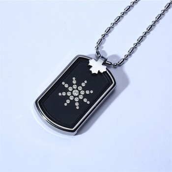 Fashion Anti EMF Radiation Protection Power Necklace Scalar Bio Energy Men Women Pendant