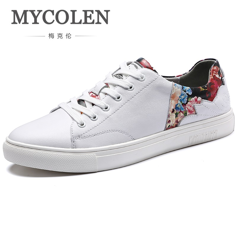 MYCOLEN Spring/Autumn Men's Red White Casual Shoes Fashion Canvas Shoes Lightweight Breathable Durable Men Shoes Zapatilla 2017 fashion red black white men new fashion casual flat sneaker shoes leather breathable men lightweight comfortable ee 20