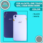 For Alcatel One Touch Idol 3 6039 6039A 6039K 6039Y Back Cover Case 4.7'' Smart Phone Back Housing Battery Case Cover Hard PC