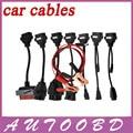 2016 Auto OBD2 Diagnotic Cables CDP Car Cables With Full Set 8 Car Cables TCS CDP PRO OBD2 OBDII Cables For MVD/Multidiag Pro+
