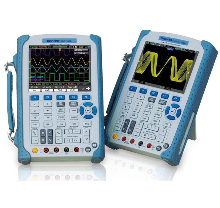 New 200MHz 1GS/s 2Channels Oscilloscope Scopemeter & Multimeter 2 in1 <font><b>DSO1202B</b></font> image