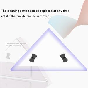 Image 3 - Anpro Nhà Cửa Sổ Khăn Lau Kính Dụng Cụ Cắm Bàn Chải 2 Mặt Từ Bàn Chải Rửa Windows Kính Bàn Chải Làm Sạch Dụng Cụ