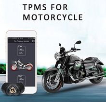 KUNFINE Motorcycle Bluetooth Tire Pressure Monitoring System TPMS Mobile Phone APP Detection
