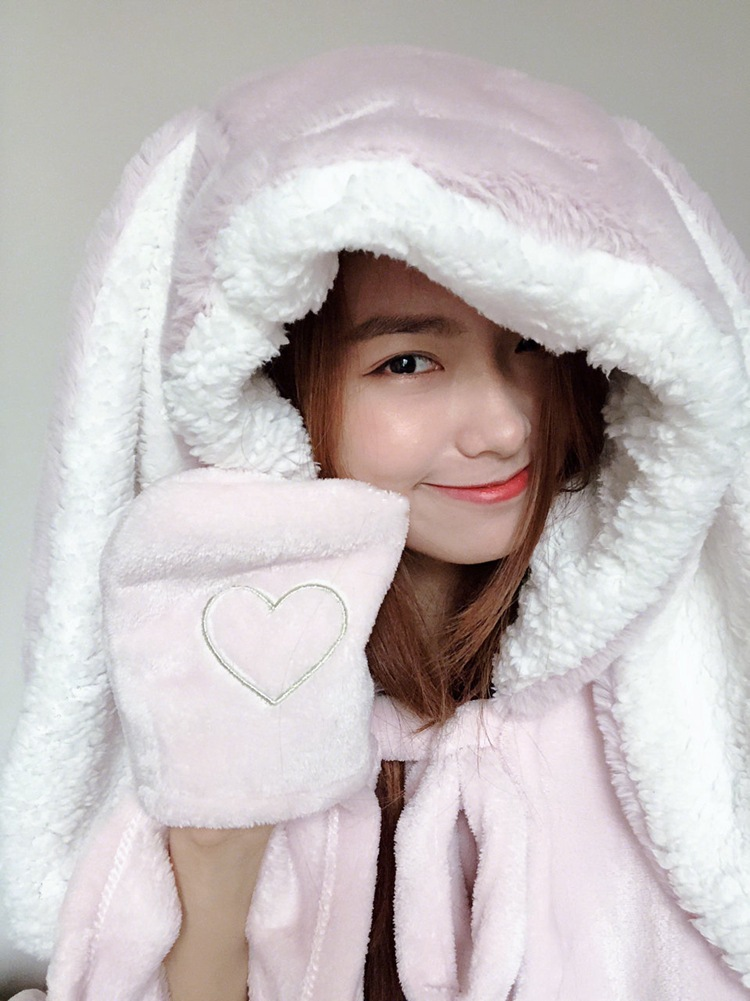 Cute Pink Comfy Blanket Sweatshirt Winter Warm Adults and Children Rabbit Ear Hooded Fleece Blanket Sleepwear Huge Bed Blankets 41