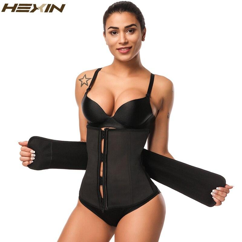 9a37edd4851 HEXIN Women Lace body shaper Slimming Bodysuits Underwear Tummy Control  Push Up Adjustable Strap Waist Trainer ShapewearUSD 17.02 piece