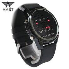 Reloj Digital de Los Hombres Reloj de Lujo Banda de Silicona LED Digital Light Números Aritméticos Pulsera Deporte Relojes Electrónicos reloj hombre