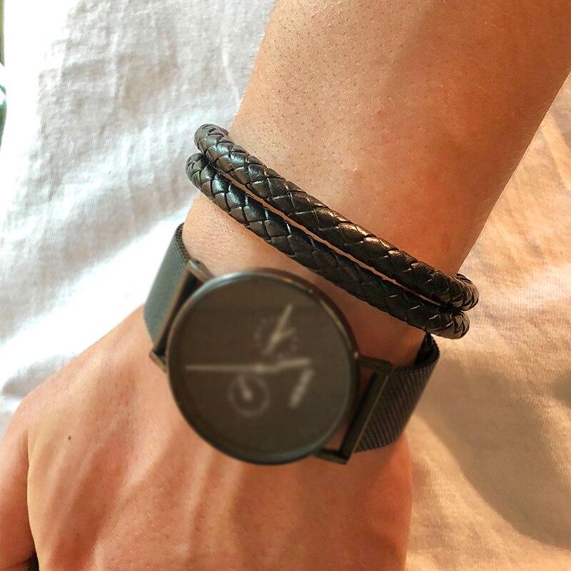 Mcllroy Men Bracelet/Leather/Customized