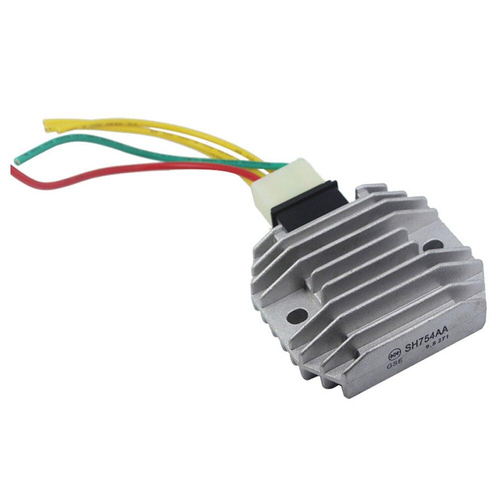 us $16 73 7% off motorcycle regulator rectifiers 5 wires plug for yamaha fzr600 fz6r fz6s yzf r1 r6 xvs1100 v star xvs 125 dragstar wr250r xp500 in Yamaha Rectifier Wiring Kits
