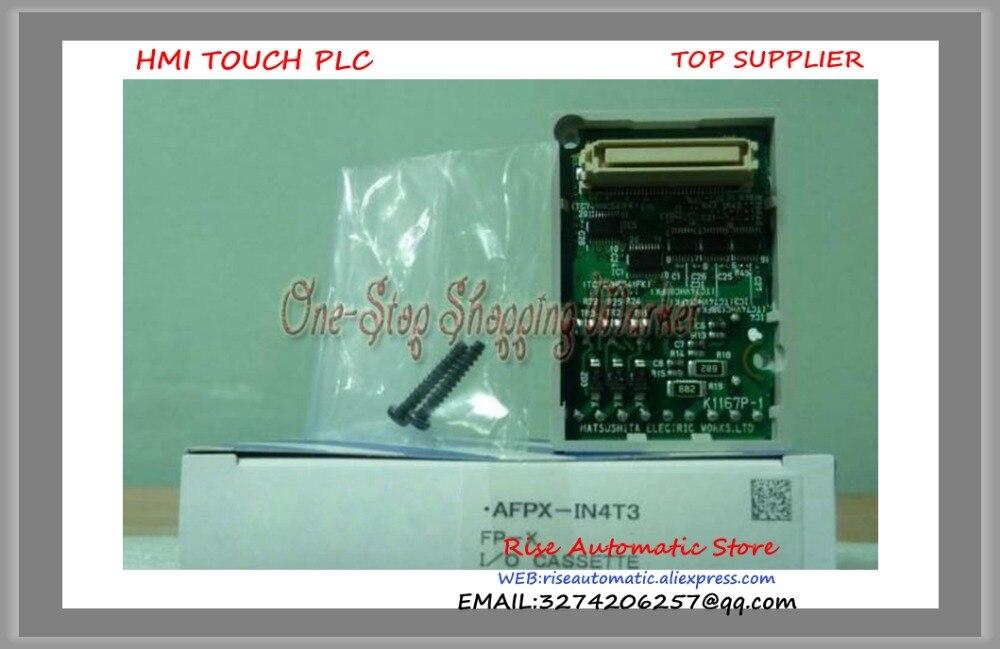 New Original PLC Programmable Logic Controller AFPX-IN4T3 4 DC input points 3 NPn output points FP-X Digital Cassettes new original programmable logic controller vb0 14mr d plc 24vdc 8 point input 6 point output main unit