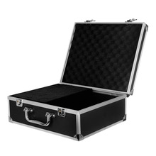 Microblading Case Aluminium Alloy + Leather Professional Suitcase Microblading Kit Empty Carry Box Tattoo Equipment with Lock