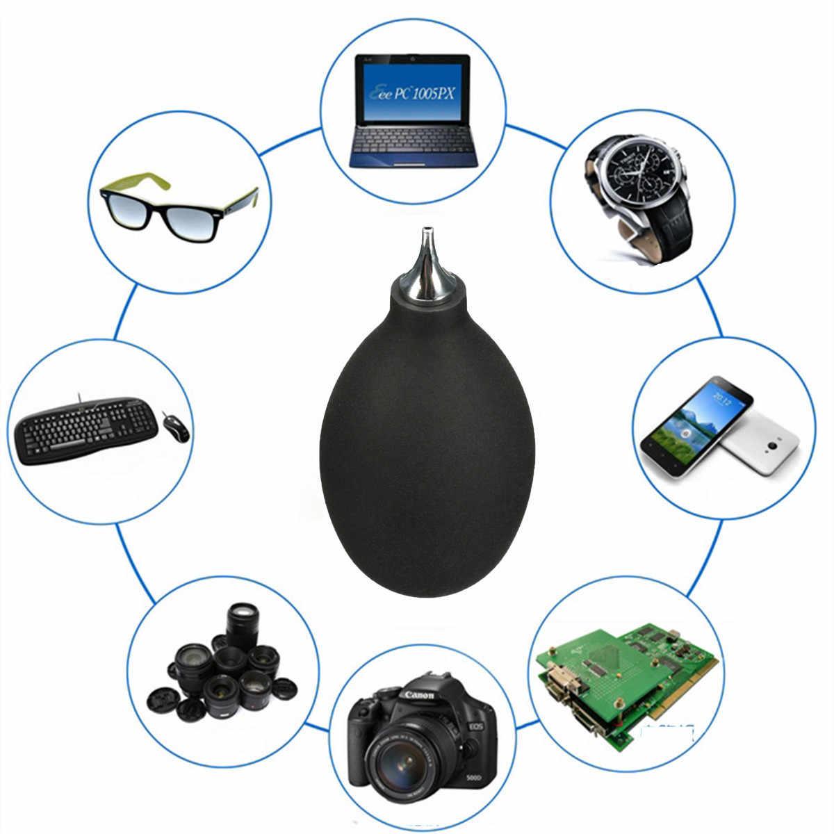 הנמוך ביותר מחיר שחור גומי מתכת פה מפוח אוויר משאבת אבק מנקה כלי עבור מצלמה שעון טלפון מקלדת תיקון
