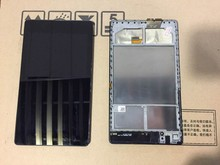 Para ASUS Google Nexus 7 2 ª wifi 2013 Panel de la Pantalla LCD + Pantalla Táctil de Cristal Digitalizador Asamblea + marco de Sustitución