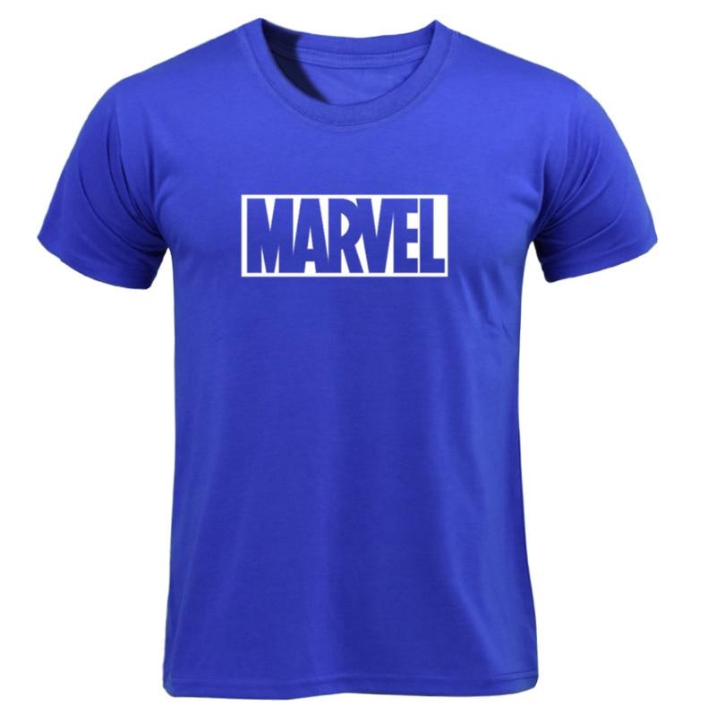 MARVEL T-Shirt 2019 New Fashion Men Cotton Short Sleeves Casual Male Tshirt Marvel T Shirts Men Women Tops Tees Boyfriend Gift 23