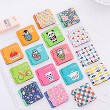 4pcs/lot Cute Cartoon Magnetic Bookmarks Daily Index Supply Student Reading Notebook Office School Stationery Bookmark(China)