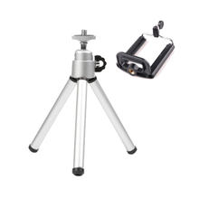 Mini Tripod Stand with Holder for iPhone 7/Gopro SJ5 Sports Video Camera session Yi Nikon Tripod For iphone Samsung Xiaomi Trip