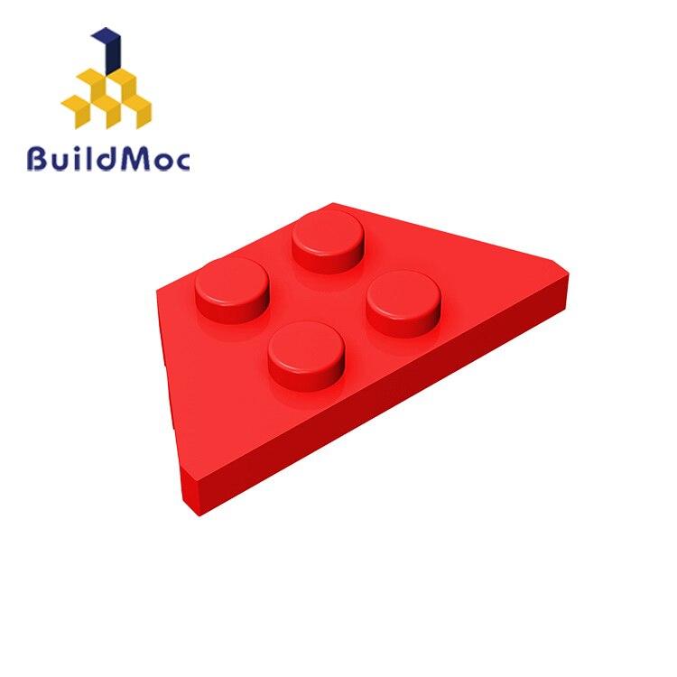 BuildMOC Compatible Assembles Particles 51739 2x4 For Building Blocks Parts DIY LOGO Educational Tech Parts Toys