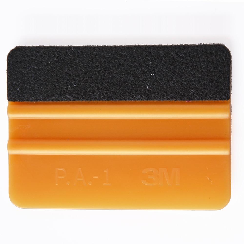 EHDIS Vinyl Car Wrap Folie Tool 3M Felt Squeegee Carbon Fiber Car Film Install Tool Household Cleaning Tools Window Tint Tools