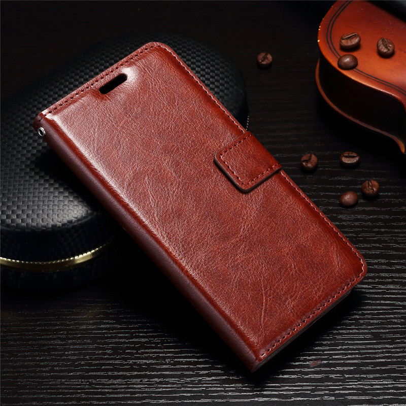 Luxury Retro Leather Wallet coque Case For Samsung Galaxy J3 Eclipse SM-J327 Stand Cover Case for Samsung J3 Prime emerge fundas