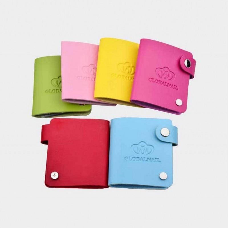 1Pcs 24 Slots Stamping Plate Holder Case Round Octagon (Dia=5.6cm/6cm) Nail Art Stamp Organizer Disc Album