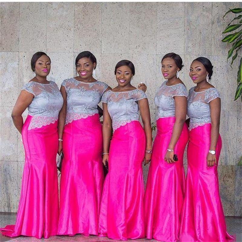 Latest African Bridesmaid Dresses
