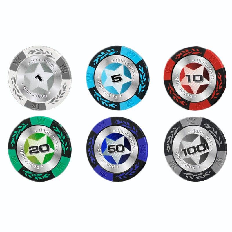 Много профессиональных Техас фишки для покера Развлечения доллар монеты 14 г Цвет липкий глины чипов валюта оптовая дешевые чипы