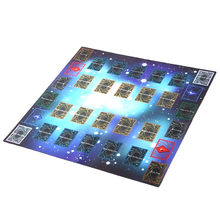 60x60cm Galaxy Style Competition Pad Playmat For Yu-gi-oh Card educational toys Puzzle play eva mat baby foam Rubber Play Mat(China)