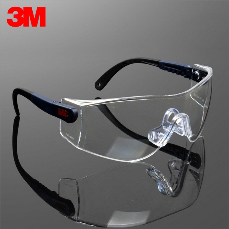 3M10196 Safety Glasses Goggles Anti-wind Anti sand Anti Fog Anti Dust Bicyle Sport Travel Work Labor Protective Glasses Eyewear