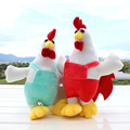 26cm Cock Plush Toys Soft Rooster Cock New Year Souvenir Stuffed Toys for Children Mascot Chinese Zodiac Chicken Kids Doll Gifts