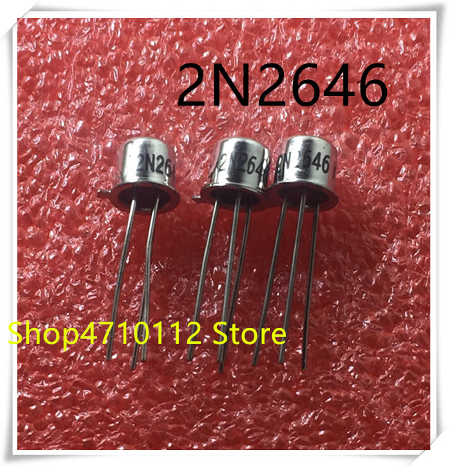 NEW 10PCS/LOT 2N2646 2N 2646 TO-18 IC