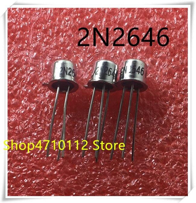 NEW 10PCS/LOT 2N2646 2N 2646 TO-18 IC