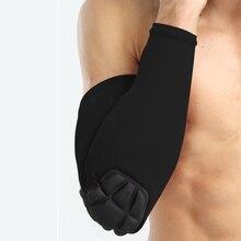 цена на Arm Warmers Elbow Pad Sports Safety Basketball Arm Sleeve Men Women Elastic Support Cycling Sun Protection Anticollisio