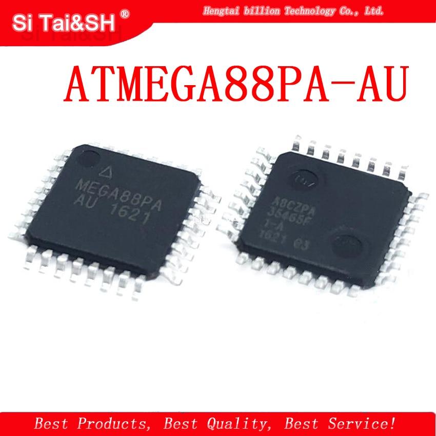 5pcs/lot ATMEGA88PA-AU ATMEGA88PA ATMEGA88 QFP32 8-bit microcontroller MCU 8KB flash5pcs/lot ATMEGA88PA-AU ATMEGA88PA ATMEGA88 QFP32 8-bit microcontroller MCU 8KB flash