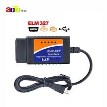 2017 OBD2 Scanner V2 1 ELM327 usb interface Car diagnostic tool ELM 327 USB supports OBD