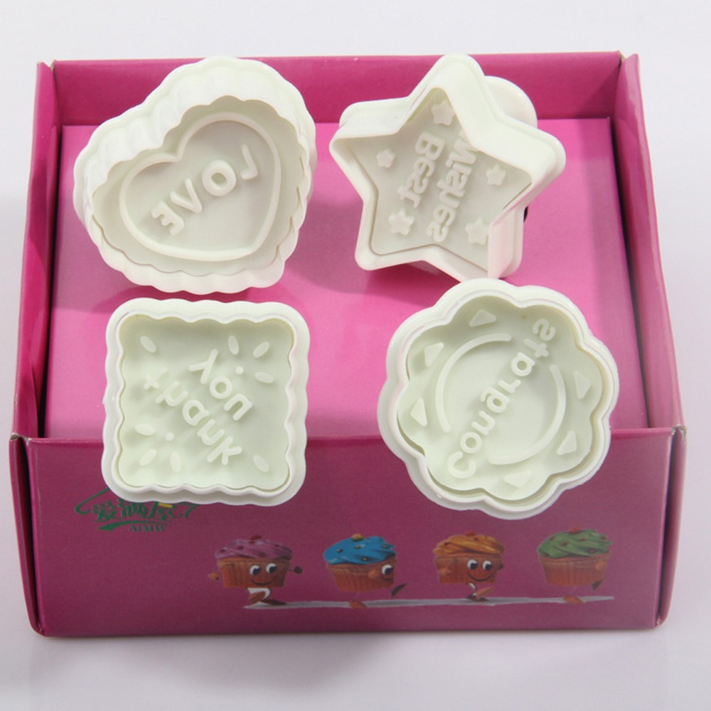 3D Heart Love Wedding Party Cookie Cutters Christmas Kitchen Pastry ...