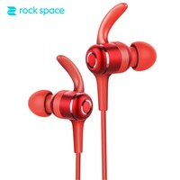 Bluetooth Earphone With Mic ROCKSPACE Muvia Wireless Stereo Earbuds Headphone Sport Headset Running Handfree For All