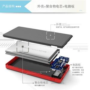 Image 2 - Echt PINENG PN 963 10000 mAh Draagbare Batterij Mobiele Power Bank USB Charger Li Polymeer met LED Indicator